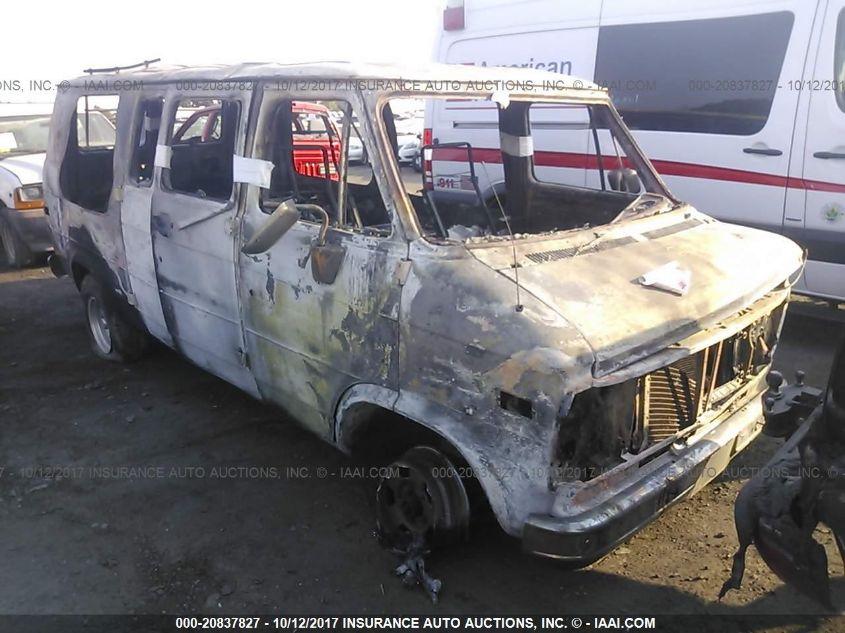 1992 GMC RALLY WAGON / VAN, 20837827 | IAA-Insurance Auto