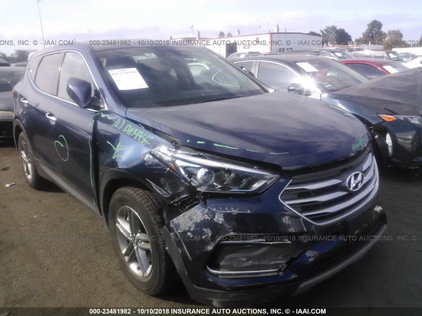 Car Auctions In Nc >> 2018 Hyundai Santa Fe Sport 23481982 Iaa Insurance Auto