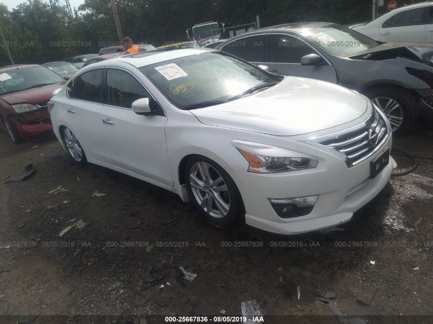 2015 Nissan Altima 3.5 Sl >> 2015 Nissan Altima 3 5s 3 5sv 3 5sl For Auction Iaa