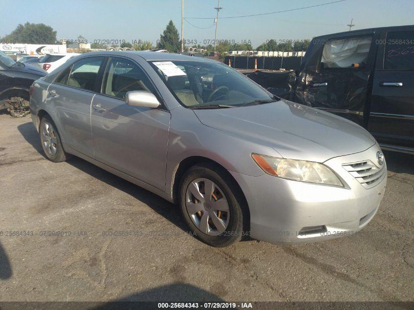 2007 Toyota Camry Ce >> 2007 Toyota Camry 25684343 Iaa Insurance Auto Auctions