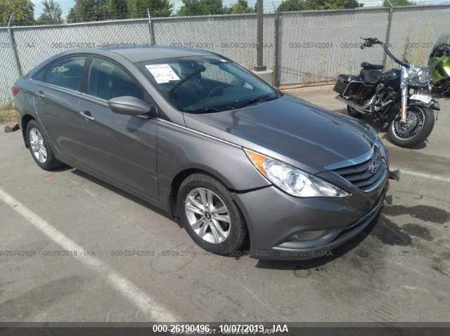 2013 Hyundai Sonata Gls >> 2013 Hyundai Sonata 26190496 Iaa Insurance Auto Auctions