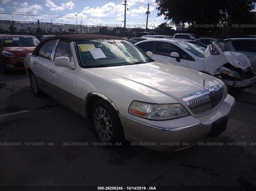 2007 Lincoln Town Car 26200245 Iaa Insurance Auto Auctions