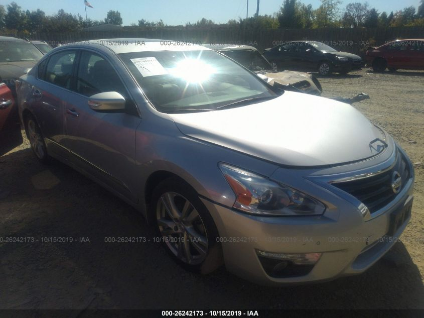 2015 Nissan Altima 3.5 Sl >> 2015 Nissan Altima 26242173 Iaa Insurance Auto Auctions