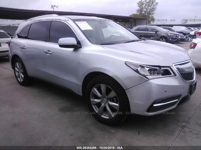 2015 ACURA MDX, 26354266 | IAA-Insurance Auto Auctions