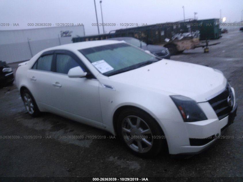2008 CADILLAC CTS, 26363039 | IAA-Insurance Auto Auctions