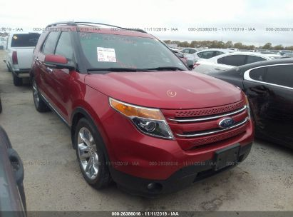 2011 Ford Explorer Limited >> 2011 Ford Explorer Limited For Auction Iaa