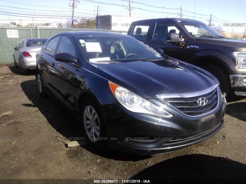 2011 Hyundai Sonata Gls >> 2011 Hyundai Sonata 26396077 Iaa Insurance Auto Auctions