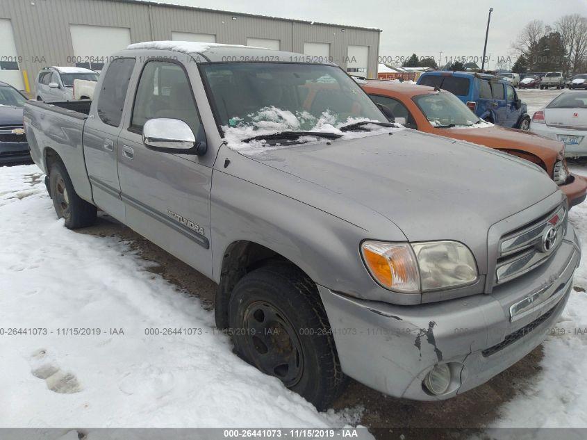 2006 Toyota Tundra Sr5 >> 2006 Toyota Tundra 26441073 Iaa Insurance Auto Auctions