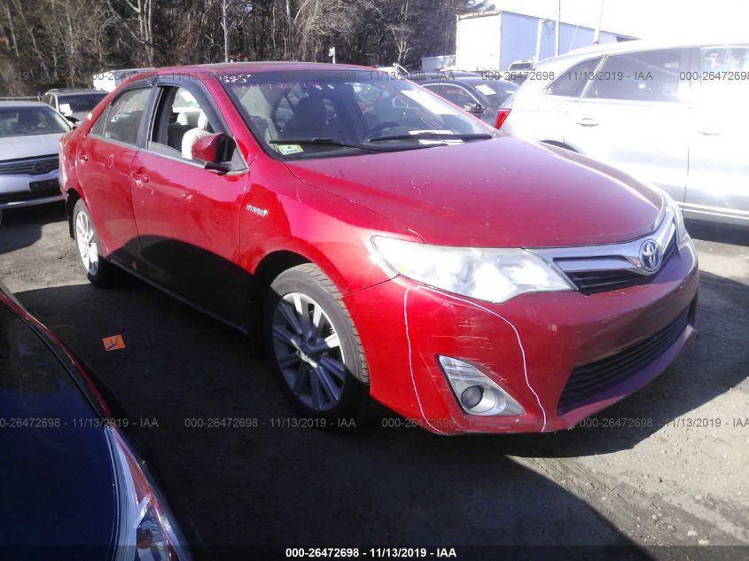 2012 Toyota Camry Hybrid Le Xle For Auction Iaa