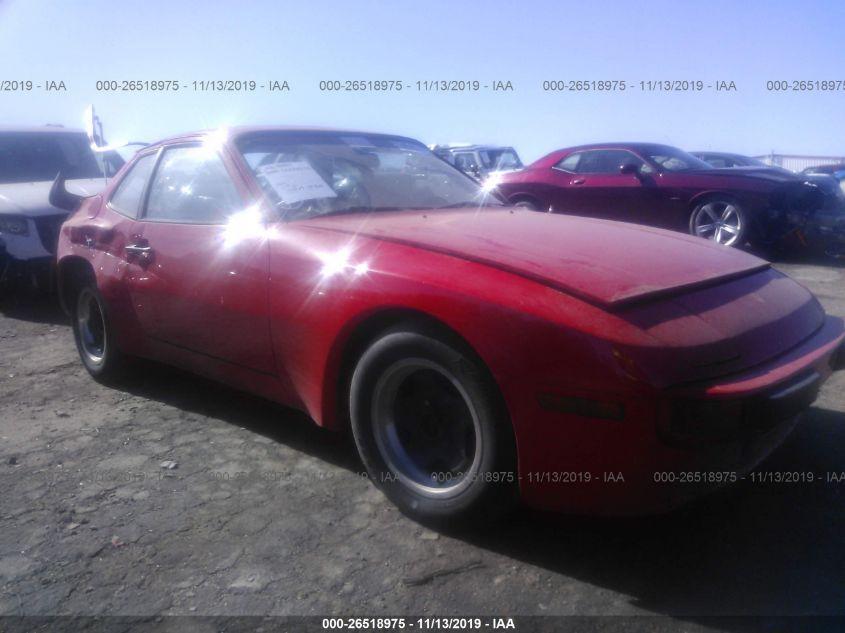 1983 Porsche 944 26518975 Iaa Insurance Auto Auctions