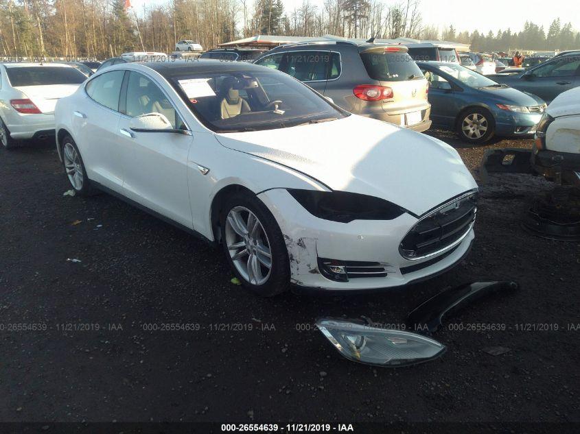 2015 Tesla Model S 26554639 Iaa Insurance Auto Auctions