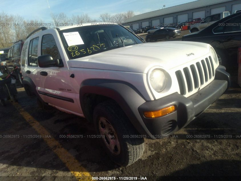 2003 Jeep Liberty Sport >> 2003 Jeep Liberty 26562975 Iaa Insurance Auto Auctions