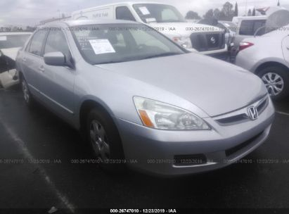 2007 Honda Accord Lx >> 2007 Honda Accord Lx For Auction Iaa