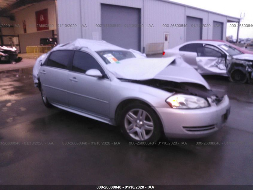2015 CHEVROLET IMPALA LIMITED LT for Auction - IAA