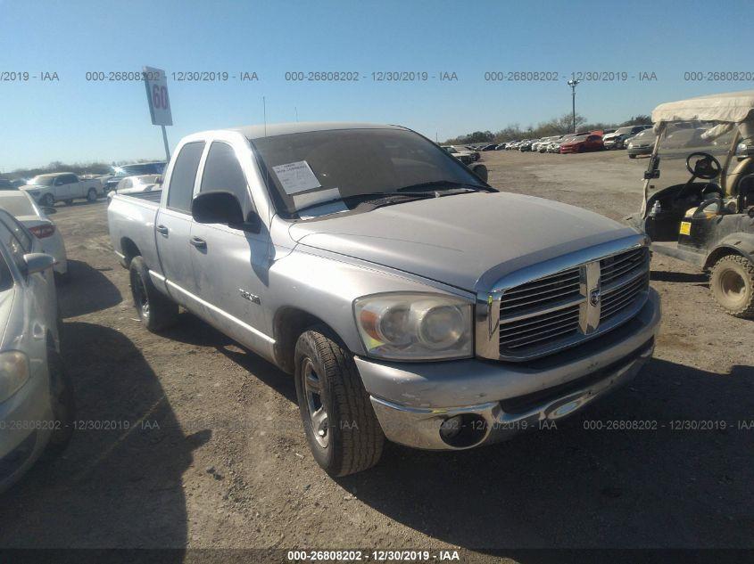 2008 Dodge Ram 1500 26808202 Iaa Insurance Auto Auctions
