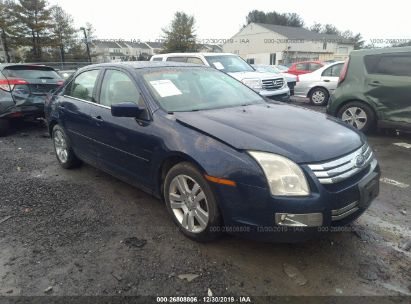 2007 Ford Fusion Sel >> 2007 Ford Fusion Sel For Auction Iaa