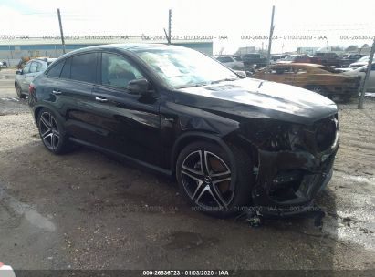 Gle Coupe For Sale >> Used 2019 Mercedes Benz Gle Coupe For Sale Salvage Auction