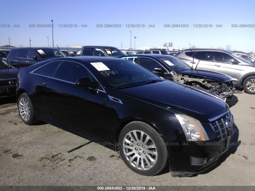 2013 CADILLAC CTS for Auction - IAA