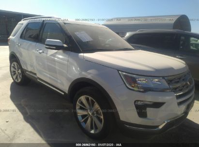 Ford Explorer Limited >> 2019 Ford Explorer Limited For Auction Iaa