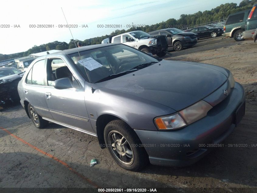 used car nissan sentra 1999 blue for sale in simpsonville sc online auction 3n1ab41d5xl110937 ridesafely