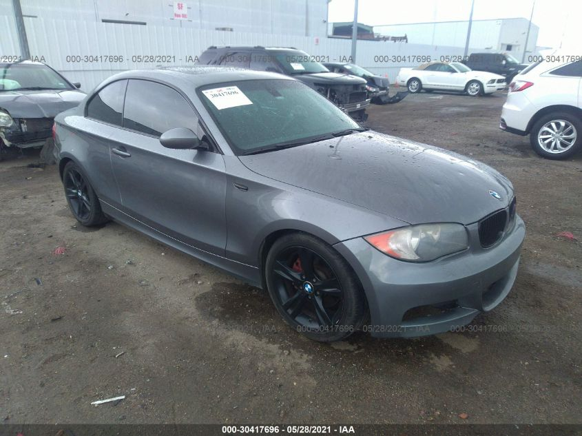 BMW 1 SERIES 2009. Lot# 30417696. VIN WBAUP73509VF06988. Photo 1