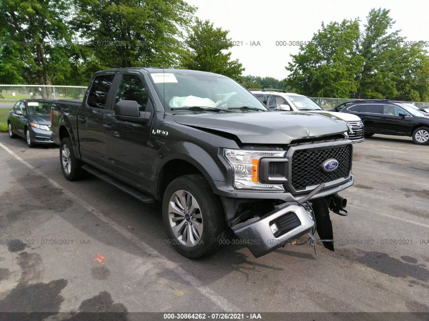 FORD F-150 2018. Lot# 30864262. VIN 1FTEW1EP6JFD92528. Photo 1