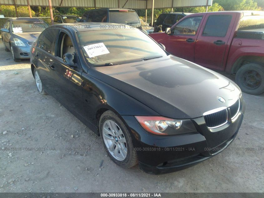 BMW 3 SERIES 2007. Lot# 30933818. VIN WBAVA33577KX70011. Photo 1