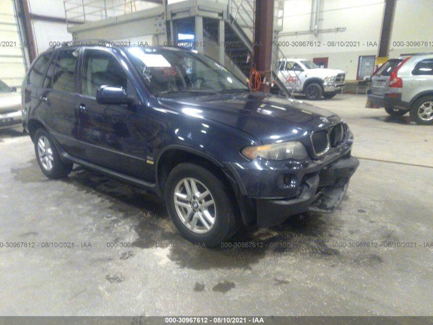 BMW X5 2005. Lot# 30967612. VIN 5UXFA13535LY10912. Photo 1