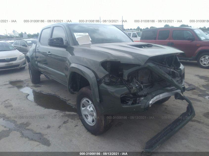 TOYOTA TACOMA 4WD 2021. Lot# 31008186. VIN 3TMDZ5BN2MM100343. Photo 1