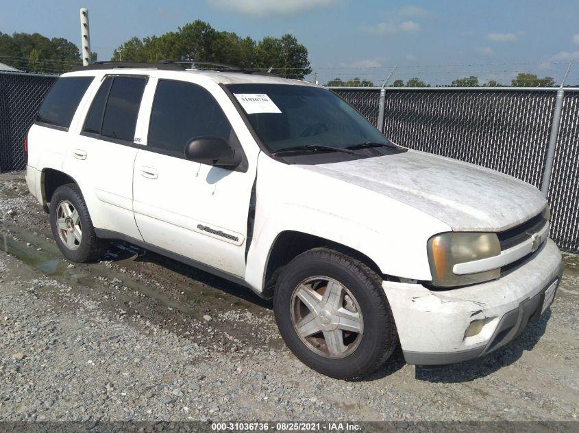 Chevrolet Trailblazer 2002. Lot# 31036736. VIN 1GNDS13S222124056. Photo 1