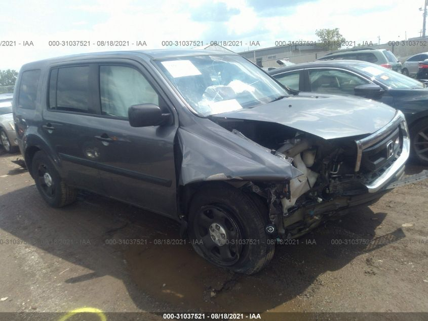 HONDA PILOT 2011. Lot# 31037521. VIN 5FNYF4H25BB104096. Photo 1
