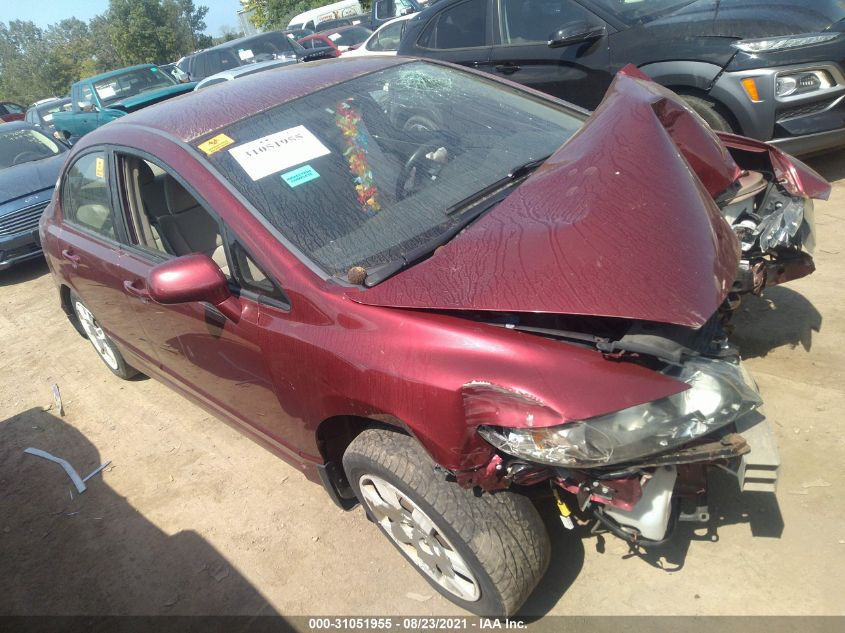 HONDA CIVIC SDN 2011. Lot# 31051955. VIN 19XFA1F57BE034012. Photo 1