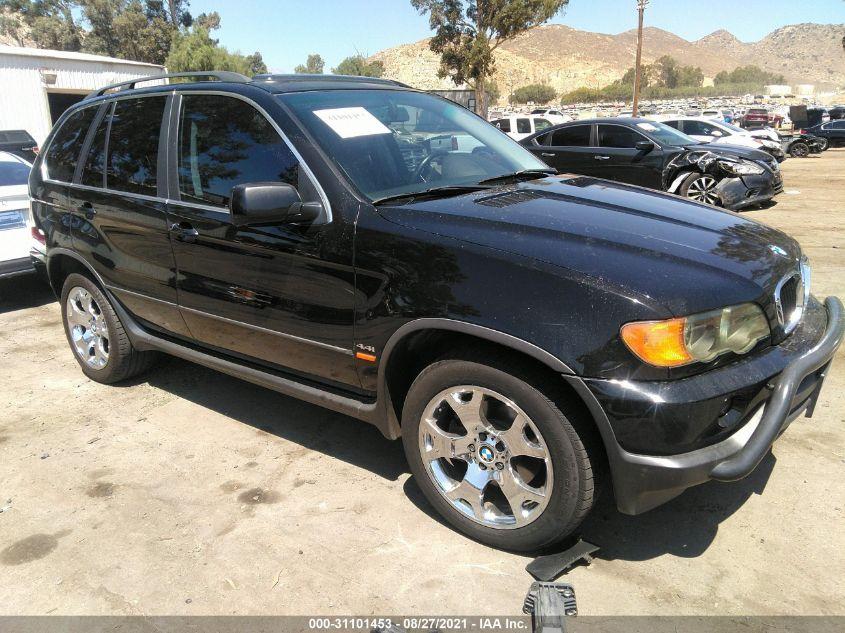 BMW X5 2001. Lot# 31101453. VIN WBAFB33501LH11467. Photo 1