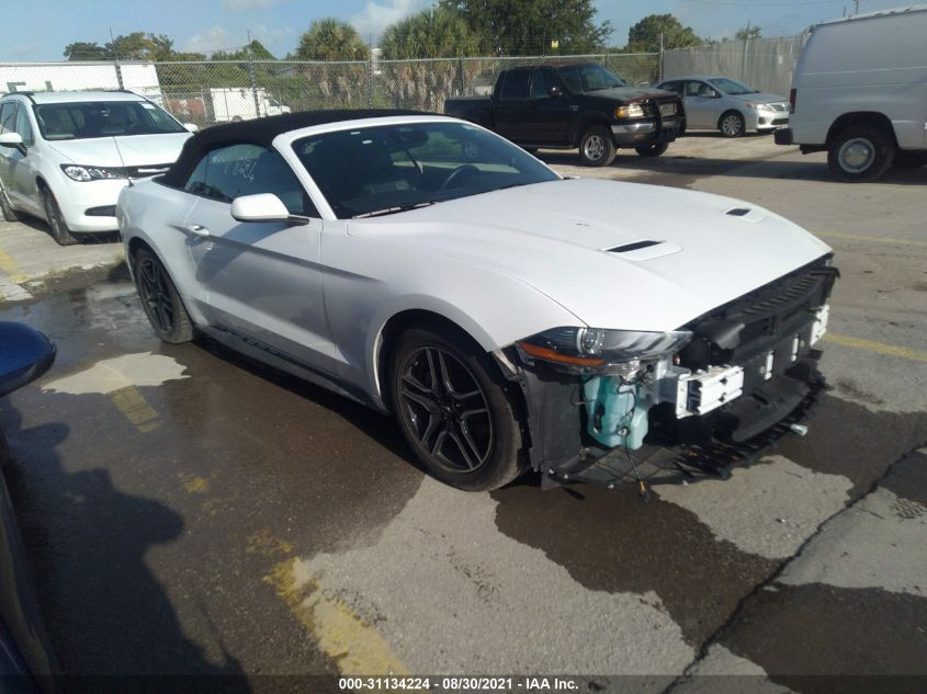FORD MUSTANG 2021. Lot# 31134224. VIN 1FATP8UH8M5106900. Photo 1