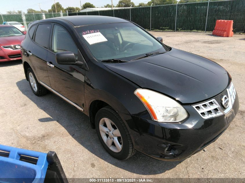 NISSAN ROGUE 2012. Lot# 31133513. VIN JN8AS5MTXCW613586. Photo 1