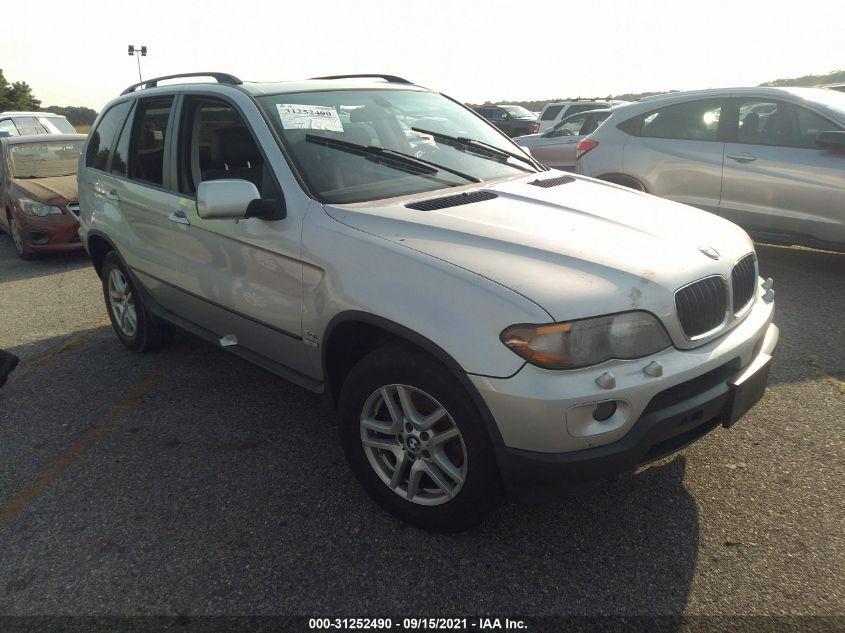 BMW X5 2005. Lot# 31252490. VIN 5UXFA13545LY01653. Photo 1