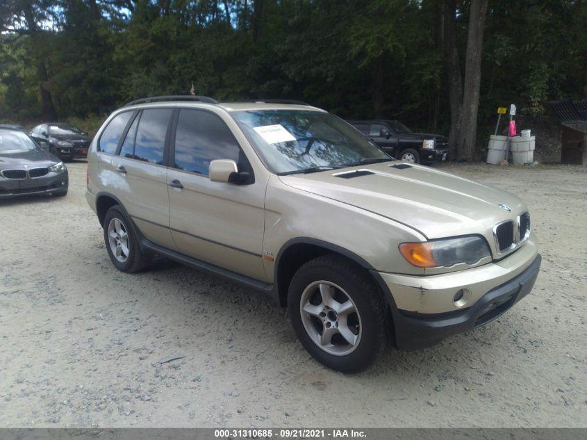 BMW X5 2001. Lot# 31310685. VIN WBAFA53501LM64060. Photo 1